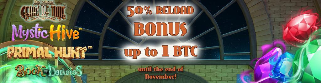 50% Reload Bonus